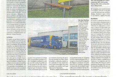 Reportaje de BanPe en La Voz de Galicia – Edición Arosa 18.02.2020