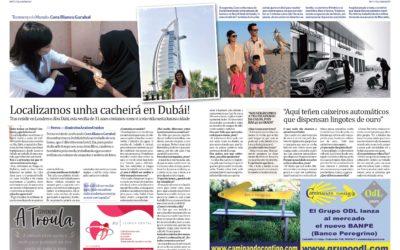 Presentación de BanPe en el periódico TEOVIVO de Marzo