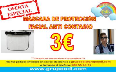 Máscaras de protección facial anti contagio