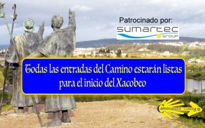 Todas las entradas del Camino estarán listas para el inicio del Xacobeo