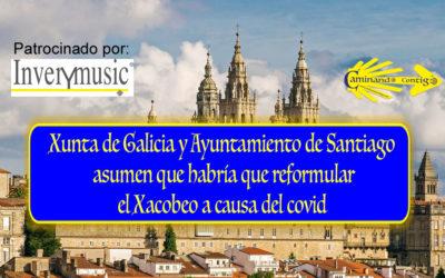 Xunta de Galicia y Ayuntamiento de Santiago asumen que habría que reformular el Xacobeo a causa del covid