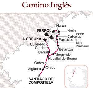 Albergues del Camino Inglés