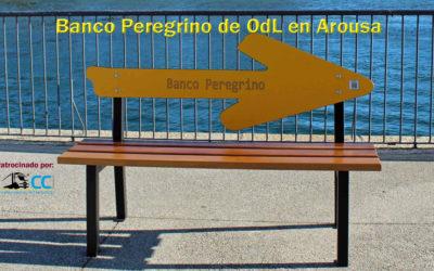 Banco Peregrino de OdL en Arousa (El Correo Gallego)