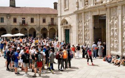 Récord con más de 600 peregrinos