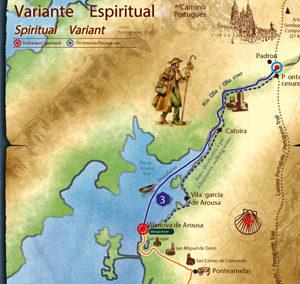 BanPe Ayuntamientos Variante Espiritural del Camino Portugués