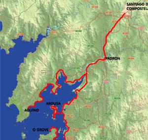 Albergues Ruta del Mar de Arousa y Río Ulla