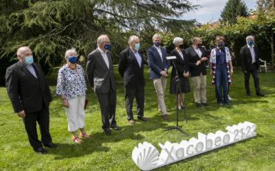 La Xunta intercambia conocimientos científicos y culturales con el comité internacional de expertos del Camino de Santiago